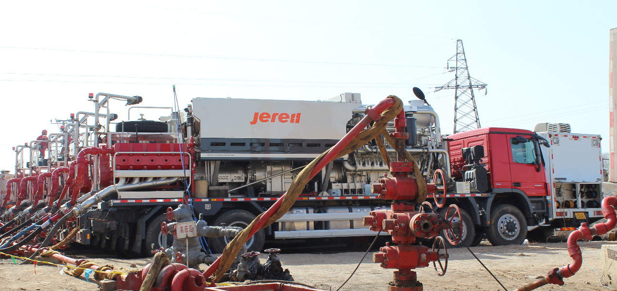 Jereh 2500 Frac Spread in Liaohe Oilfield,China