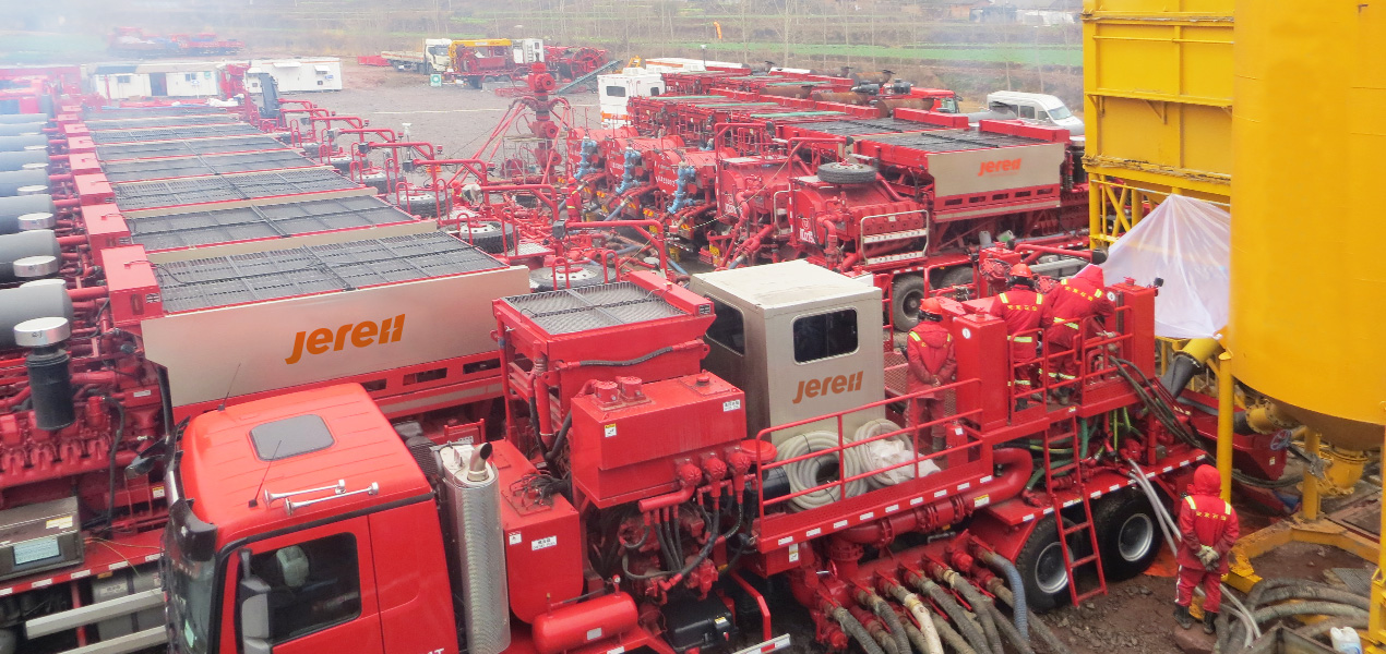 Jereh 130bbl Truck Mounted Sand Blender in Sichuan,China